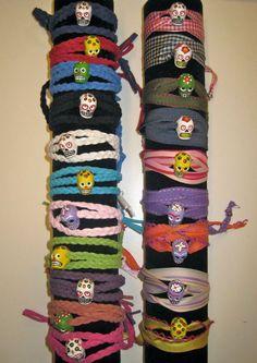 Sugar Skulls by Kettlebell Jewels  shop online:  www.kettlebelljewelsitaly.com