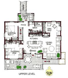 1000 images about house plans on pinterest master suite for Reverse living beach house plans