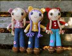 Ravelry: Doll in Bear Hoodie pattern by Tracey MacIntyre