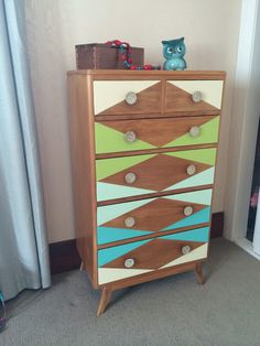 Painted Dresser--My First Project