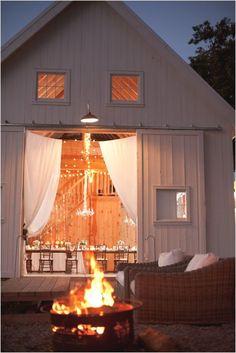 wedding bonfires are always a great idea! photo by @jaimeandchase