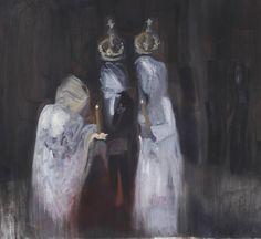 Figurative painting by One to Watch artist Angela Maasalu (UK) #SaatchiArt