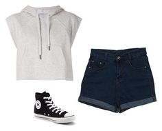 """Untitled #555"" by danieledepaula on Polyvore featuring adidas and Converse"