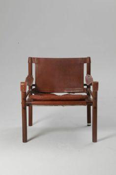 Beautiful Rosewood Arne Norell Safari Sirocco Chair | eBay