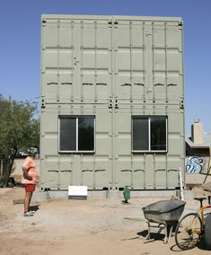 Shipping Container Homes: Upcycle Living - Tucson, Arizona - Container Home  http://homeinabox.blogspot.com.au/2012/07/upcycle-living-tucson-arizona-container.html