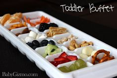 How to Make a Toddler Mini Buffet