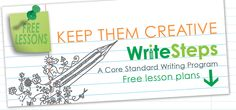 Have you tried a trial of WriteSteps yet? Visit http://WriteStepsWriting.com to check out our K-5 100% Common Core writing and grammar program! It is our goal to empower teachers to create lifelong, confident writers while preparing students for the Common Core.