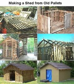 Ahhhhhhhhh!!!!!!!! You can build your own guest house out of pallets from Napa!!!!!!!!!!!!!
