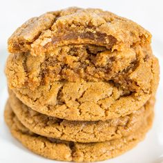 I have dozens of peanut butter cookie recipes on my blog. Check out the Related Recipes below for an ode to some favorites. In my first cookbook there's another dozen peanut butter cookies. But you can never have too many peanut butter cookies recipes and these are some of the best. I couldn't stop eating the cookies and they're a spinoff …