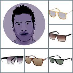 Men's Sunglasses For Round Face http://www.xplorfashion.com/2013/07/mens-sunglasses-for-round-face.html