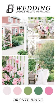 Modern Wedding Colour Palette Inspiration - on the Bronte Bride Blog, pink wedding, purple and pink wedding inspiration, calgary garden wedding Wedding Color Schemes, Wedding Colors, Wedding Styles, Colour Schemes, Wedding Ideas, Sweet Table Wedding, Spring Wedding Inspiration, Wedding Mood Board, Wedding Welcome Signs