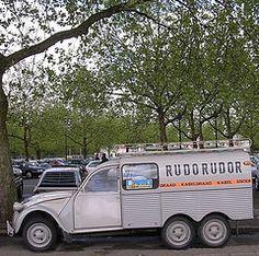 AK 350 Tissier (CitroenAZU) Tags: forest belgium citroen 2cv stretched xxl xl eend besteleend geit akb lelijke vorst 2pk tissier deuche camionette ak350 fourgonette