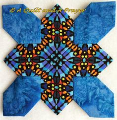 A Quilt and A Prayer: Patchwork of the Crosses - Let's Roll! Hexagon Quilt Pattern, Quilt Patterns, Quilting Tools, Quilting Ideas, Cross Quilt, Lets Roll, English Paper Piecing, Crosses, Quilt Blocks