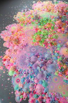 Candyland Dreamscapes Come To Life Seeing Forever, 2012 Kuandu Biennale, KdMoFA, Taipei photo: Chiu Te-Hsing Cute Wallpapers, Wallpaper Backgrounds, Iphone Wallpaper, Arte My Little Pony, Fractal, Candy Art, Form Design, Balance Design, Color Balance