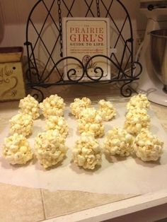 The Diaries of a Super-Mom: A Prairie Girl's Guide to Old Fasioned Popcorn Balls great for Pioneer Day or a Little House on the Prairie party or any holiday really. Yummy old fashioned treat Pioneer Day Food, Pioneer Day Activities, Pioneer Crafts, Popcorn Balls, Popcorn Recipes, Girl Guides, Super Mom, Cooking With Kids, Party Snacks