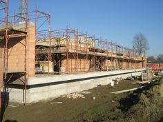 Casa sulla Morella, Andrea Oliva, Castelnovo Sotto (RE), Italy, 2009 (vertical structures)