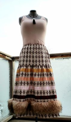 By Feral Fawn Native American Clothing, American Apparel, Native Fashion, Ribbon Skirts, Native Style, Fur Trim, Calgary, High Waisted Skirt, Shirts