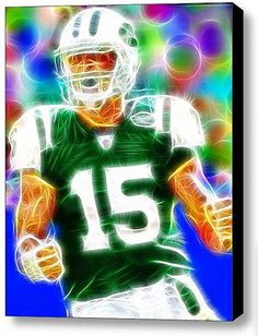 Framed New York Jets Tim Tebow 9X11 inch Limited Edition Art Print w COA 135ad1917