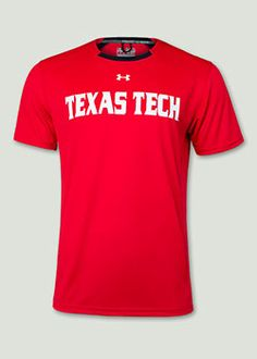 Under Armour® 2014 Player's Shirt in Red (also comes in black). Red Raider Outfitter