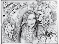 We team up with tattoo artist Enrique Castillo from Dallas, Texas, who has been tattooing for 10 years. Check out his art here at Lowrider Arte Magazine.