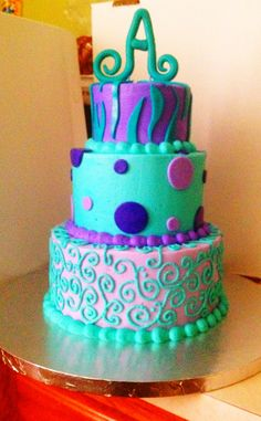 Sweet Sixteen Cake!! Courtney Greenlee I love this one!
