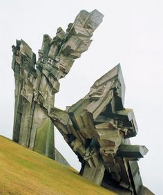 Holocaust Memorial - someday I must take a long trip across Russia to see all of these buildings