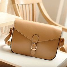 a083d3507d Dupplies Preppy Style Women s Handbag Leather Messenger Bag Female  Briefcase Envelope Candy Color Small Crossbody Shoulder Bag