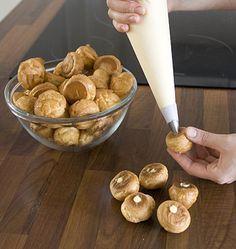 Pâte à choux – étapes technique de base en images pas à pas - les meilleures recettes de cuisine d'Ôdélices