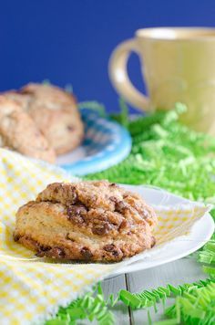 Cadbury Creme Egg Scones by Seeded at the Table, via Flickr