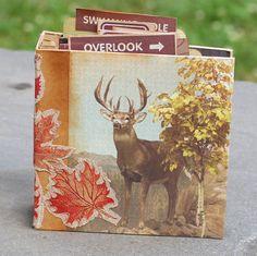 Outdoorsman's Mini Album by PickleHillDesign on Etsy