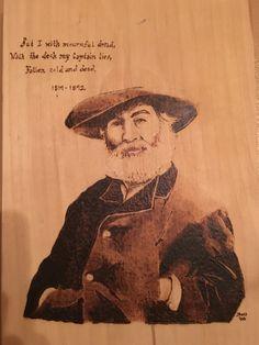 Walt Whitman Leaves of Grass Pyro