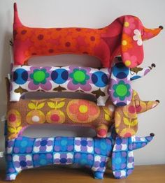 reminds me of Nanna's ancient doorstop - only way more colourful!