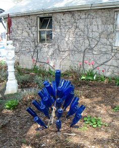 Small TeePee Bottle Tree