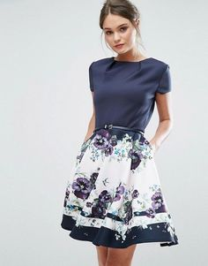 Ted Baker Stefh Skater Dress | Skater Party Dress
