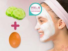 Producten uit de keuken worden regelmatig voor beauty behandelingen gebruikt. Zo schijnt een masker van komkommer en ei reinigend te werken. Heb jij nog een leuke tip, deel hem met ons. We zijn benieuwd!