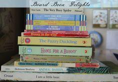Begin at the Beginning: Board Book Delights & Good Book Habits