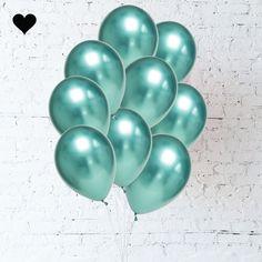Green Chrome Balloon