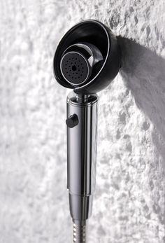 Story sprayer (Black). #Story #sprayer #bathroom #interior #shower #design #accessories #black #JUSTIME