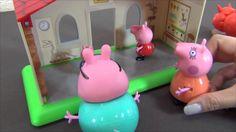 Peppa Pig español.Peppa y los cerdos de cueva.Peppa Cerda y el museo de ...