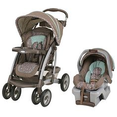 Infant stroller & carseat plus toddler stroller! Baby Alesi likes this.