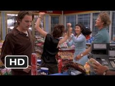 Reality Bites: My Sharona in the gas station. One of my favorite 90's movies.