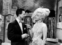 Donald OConnor and Marilyn Monroe in Theres No Business Like Show Business 1954 - 20th Century Fox