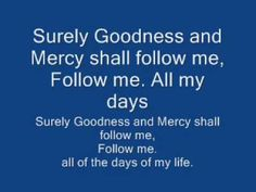"It is not every day we find a regae Christian song to share, but I love this version of ""Surely Goodness and Mercy Shall Follow Me"" with Israel Houghton. It makes me want to groove (yeah, I said that. LOL.) Seriously, though, what is it that makes you want to get up out of your chair and sing some praises to God? Search for the joy! -Lisa"