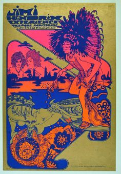 20.-.26.6.1967; jimi hendrix experience; usa, s.f., fillmore auditorium; (db) (1); read the story behind: http://litlinks1.blogspot.co.at/2014/05/hapshash-and-coloured-coat-jimi-hendrix_24.html