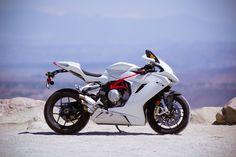 MV Agusta's F3, 675cc three-cylinder supersport