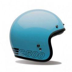 Bell Custom 500 helmet - Retro blue