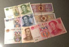 Un buen amigo me ha traído de China estos trocitos de papel de colores para seguir alimentando mi estúpida afición por coleccionar monedas y billetes. Gracias!!!