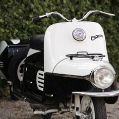 When they first sent me photos of this Czech made scooter called a Cezeta I was dumbfounded. Two photos in, and about ten seconds later – I wanted one. Sidecar, Antique Cars, Vehicles, Motorcycles, Photos, Vintage Cars, Pictures, Car, Motorbikes