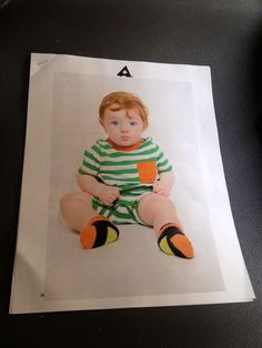 Casting pic of Jack as a baby