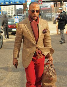 Red & Jacket